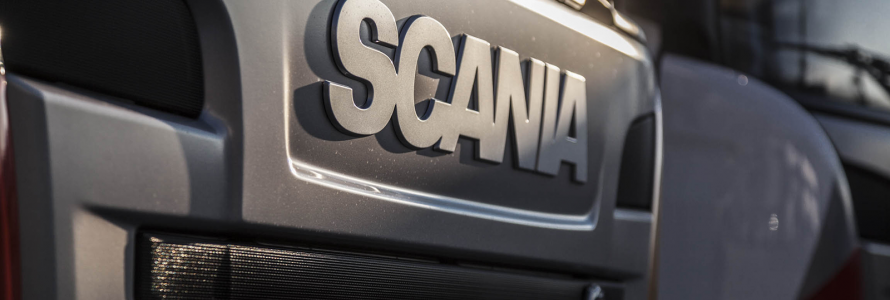 Scania a Transpotec Logitec